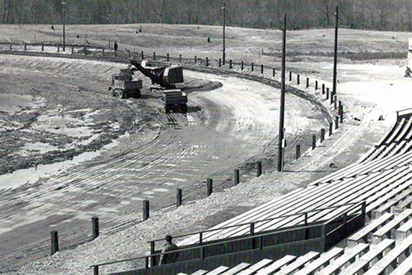 1951 track construction